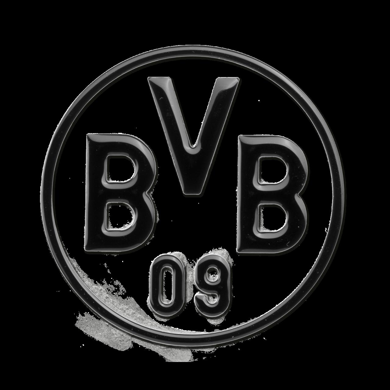 BVB-Auto-Aufkleber (schwarz)