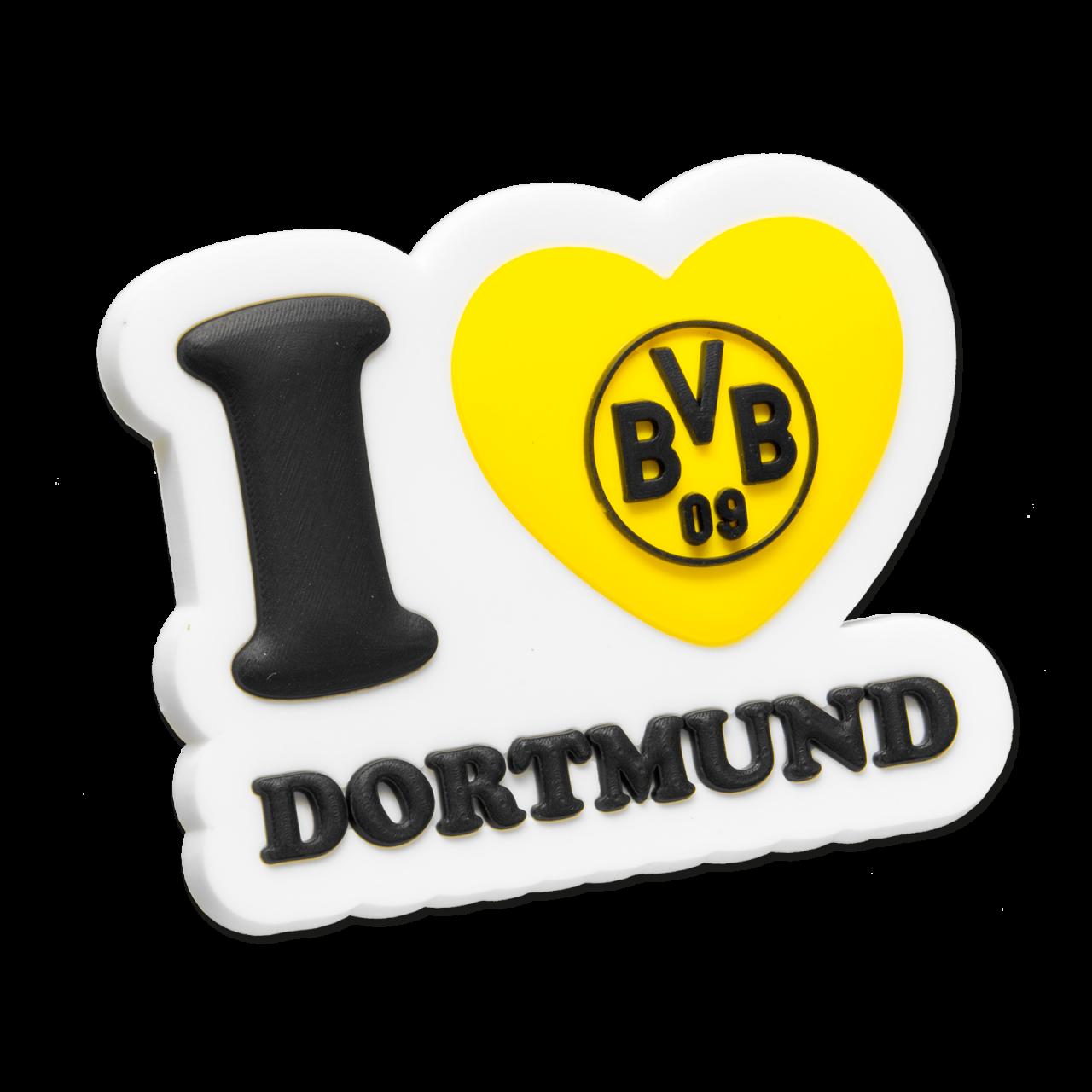 I love Dortmund-3D-Magnet