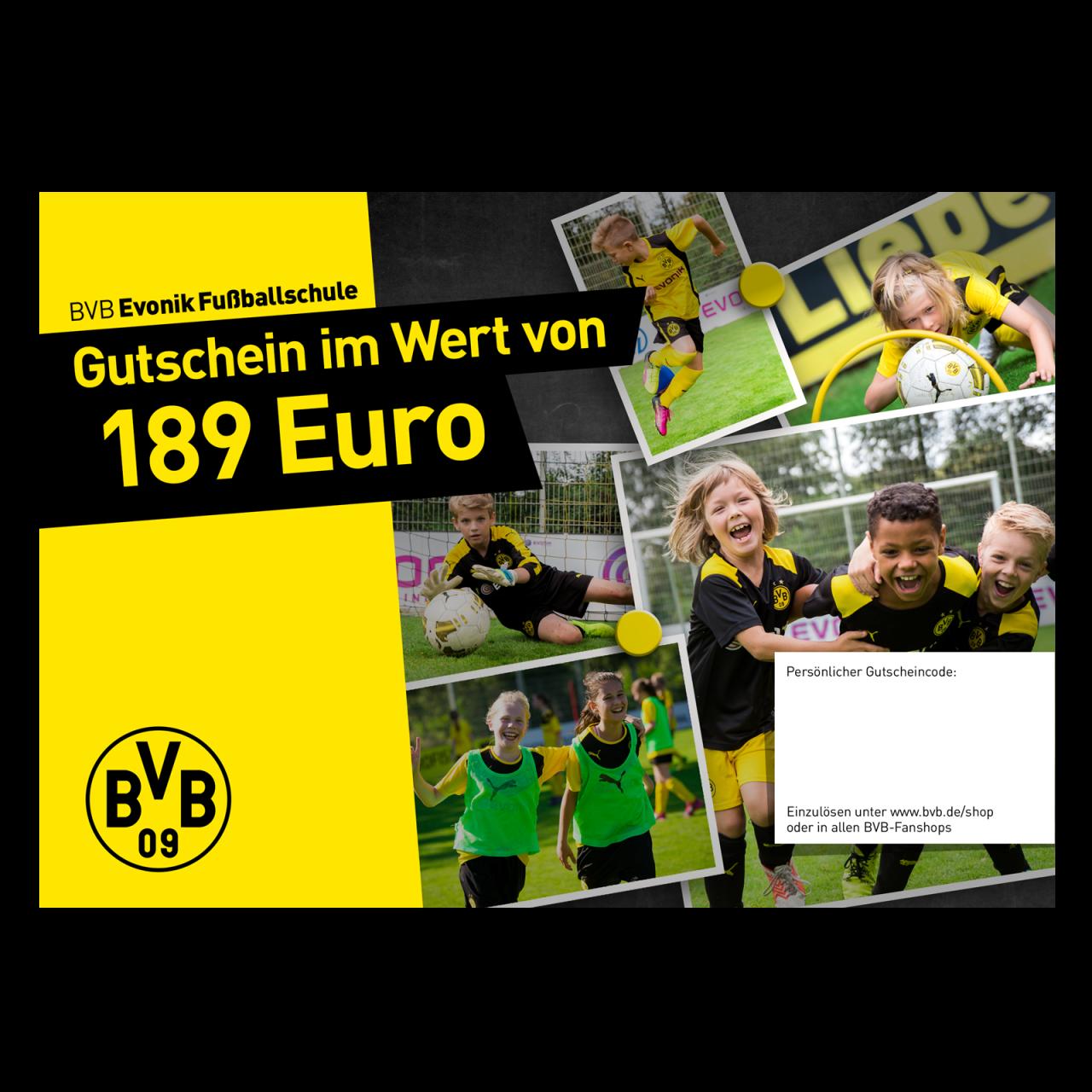 Gutschein Fußballschule Ferienkurs englisch